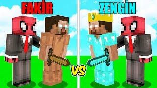 ZENGİN HEROBRİNE VS FAKİR HEROBRİNE! 😱 - Minecraft