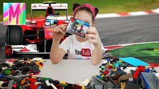спортивный болид спорткар лего MILA HOUSE LEGO ЛЕГО и не только