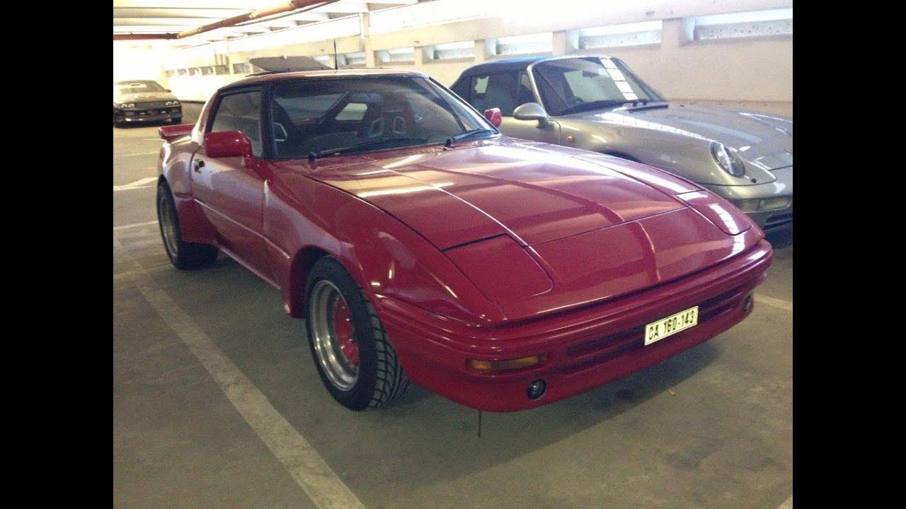 1981 Mazda RX7 Wide Turbo - YouTube