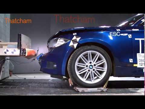 Crash Test BMW 1 Series E87 Front