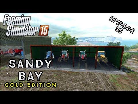 Let's Play Farming Simulator 2015   Sandy Bay   Episode 35