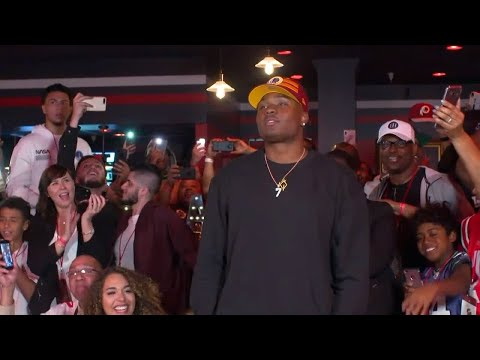 Behind the Scenes with Dwayne Haskins During the 2019 NFL Draft | Ohio State | B1G Football