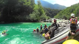 BOVEC SLOVENIA 2015 - Rafting / Canyoning / Zip Line