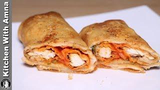 KFC Fried Chicken Roll (Dawat e Iftar) Recipe by Kitchen With Amna