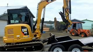 Video still for Felling IT I Loading CAT305E