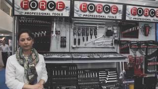 Набор инструментов FORCE 4245  обзор