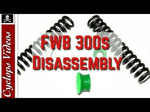Feinwerkbau FWB 300 disassembly