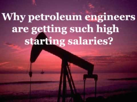 Why petroleum engineers are getting such high starting salaries?