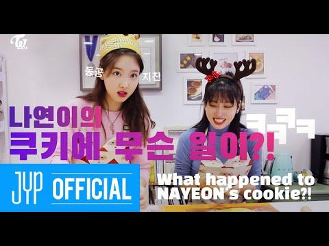 "TWICE TV ""Peach Sisters' Cookie Making"""