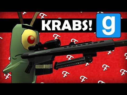 Gmod: Patrick Star Launch, Mr Krabs VS Plankton, Tripple Krabby Patty Order! (Comedy Gaming)