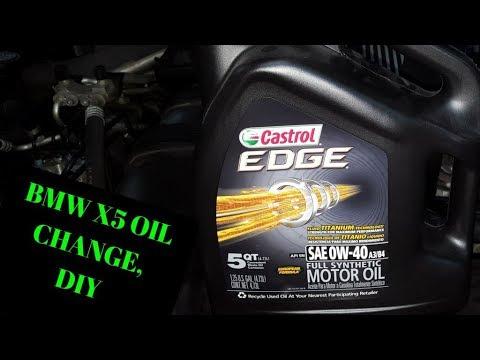 2013 bmw x5 diesel oil filter location