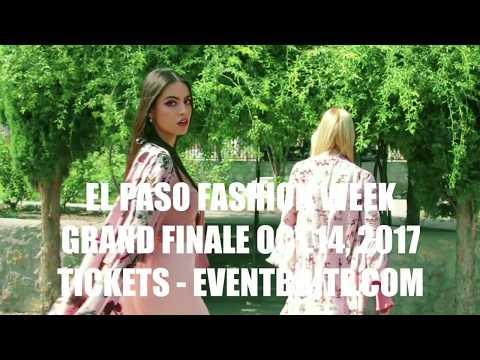 El Paso Fashion Week Hue 2017