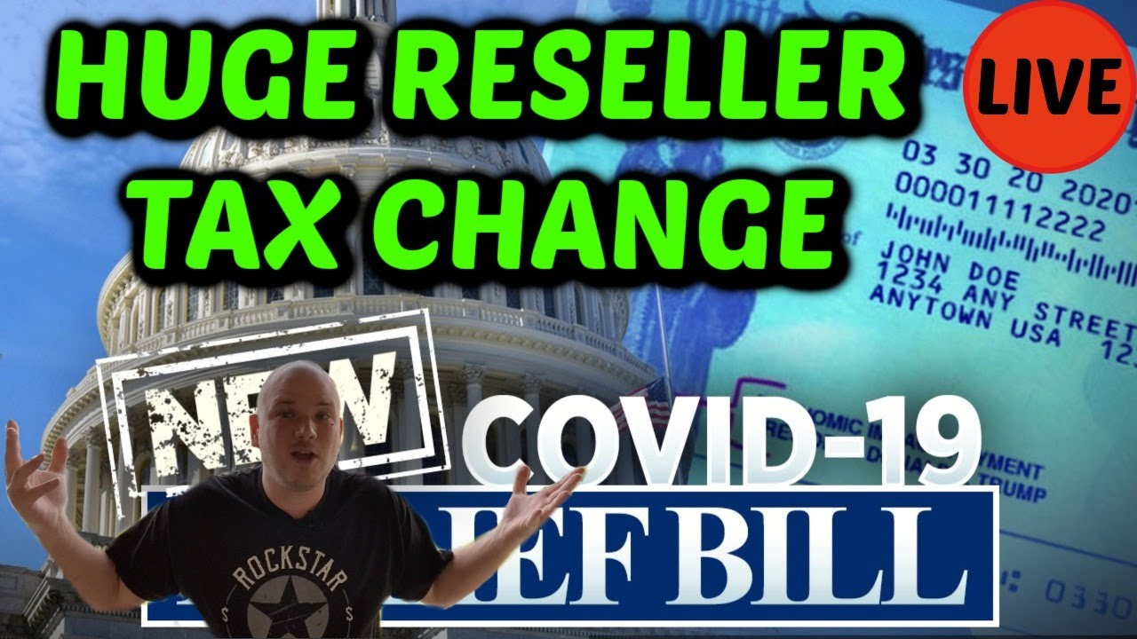 HUGE Reseller Tax Law change for 1099s.  EVERYONE better listen up