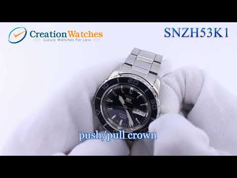 Seiko SNZH53 SNZH53K1 SNZH53K Automatic Sports Men's Watch