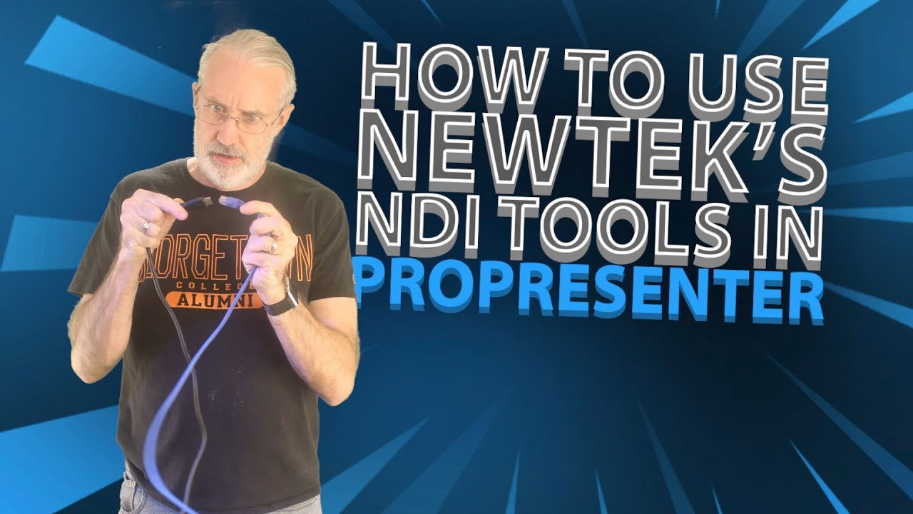 How to use NewTek's NDI Tools with ProPresenter