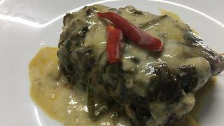 How to cook pinangat(ginatang gabi)