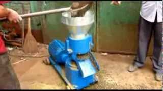 manual 40 100kg h home use pellet mill making machine