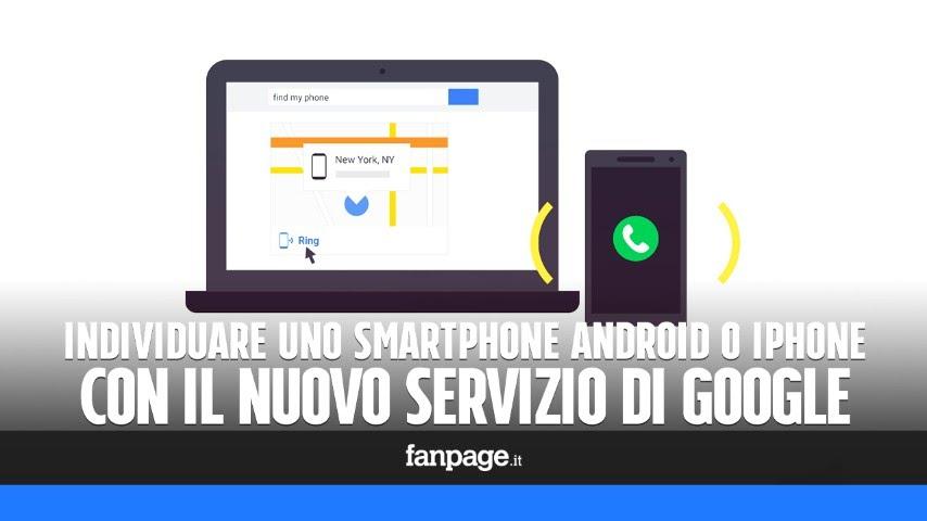 Localizzare telefoni Android