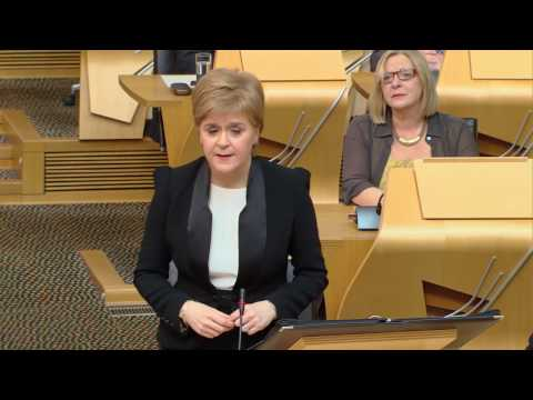 First Minister's Questions - Scottish Parliament: 23rd March 2017