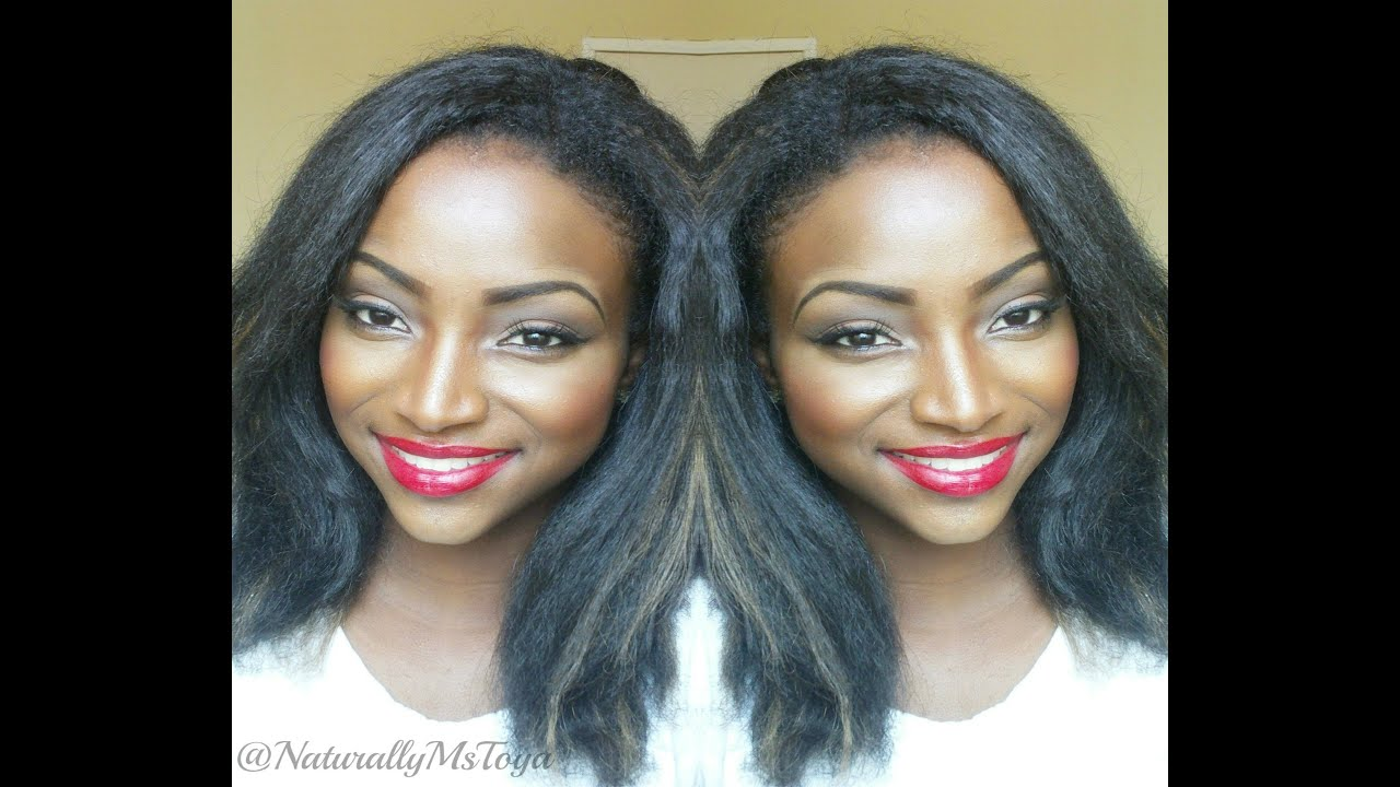 Crochet Hair Styles For Round Faces : 100% Kanekalon (Straight Hair) Crochet Braids Review (Installation ...