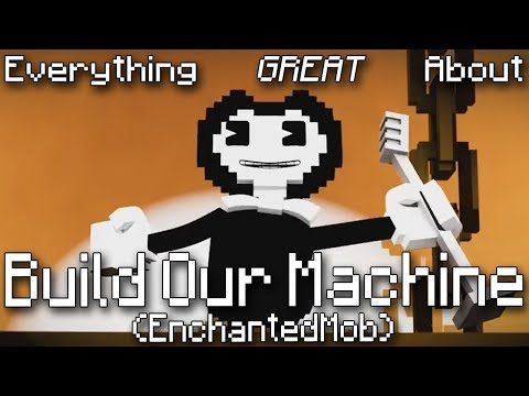 Everything GREAT About Build Our Machine (EnchantedMob)!