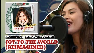 BEHIND THE SCENES - RECORDING OF JOY TO THE WORLD (REIMAGINED) | D.I.Y. HOME RECORDING