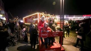 Świąteczna ciężarówka Coca-Cola w Jaworznie | #Dziekuje