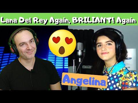Angelina Jordan - Young And Beautiful (Lana Del Rey Cover)   REACTION