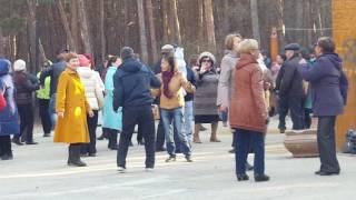 Дискотека в парке Якутска