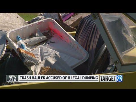 Trash hauler accused of illegal dumping