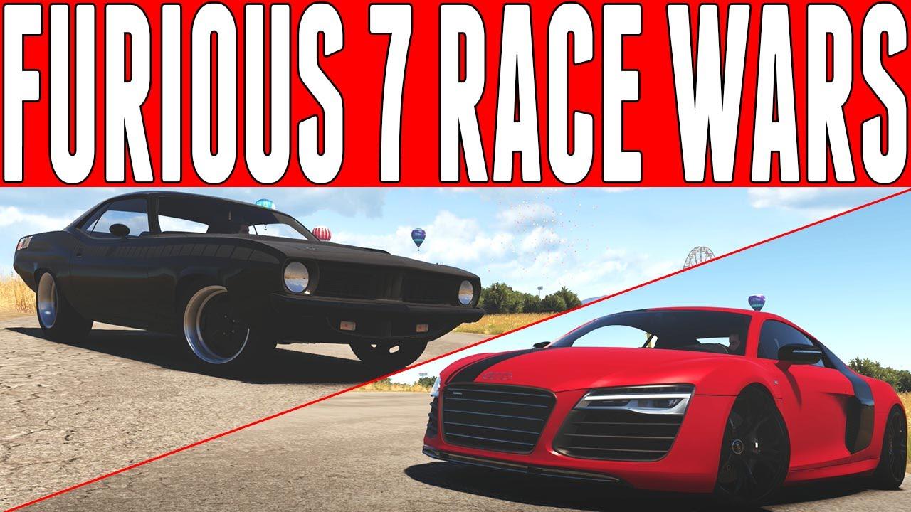 Forza Horizon 2 Versus : Furious 7 RACE WARS Plymouth Cuda