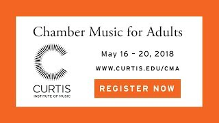 Chamber Music for Adults 2018