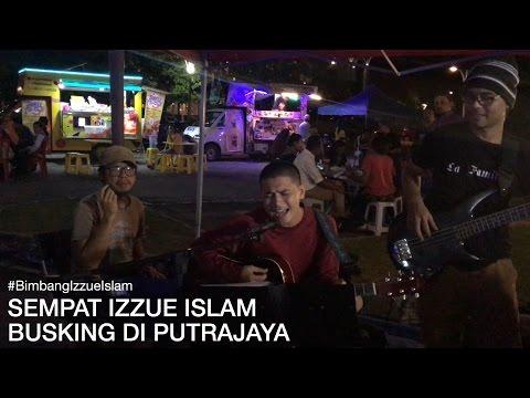 SEMPAT IZZUE BUSKING LAGU BIMBANG DI PUTRAJAYA