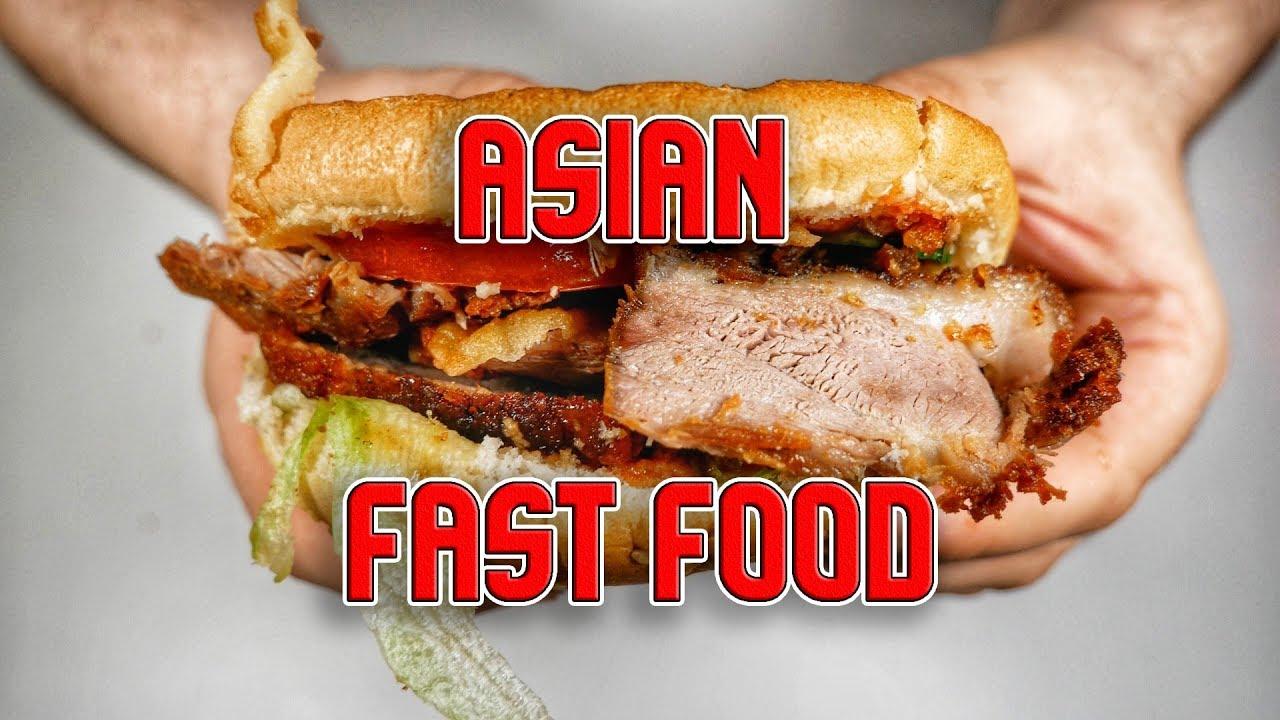 KACHNÍ BURGER v asijském fast foodu!