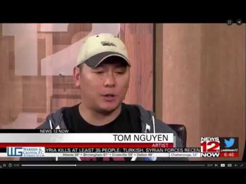 Tom Nguyen on News 12 Now local news in Chattanooga, TN