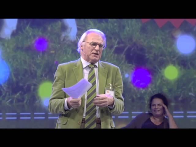 Herman Pleij voor het SIDN Congres 25 jaar .nl.