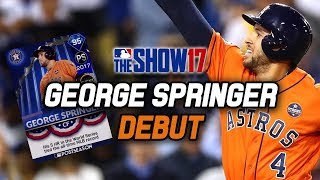 95 GEORGE SPRINGER DEBUT! World Series MVP! | MLB The Show 17 Diamond Dynasty Ranked Seasons