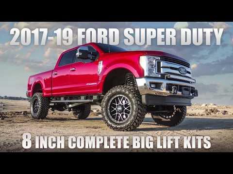 Ford Super Duty 8 Inch Lift Kit - ReadyLIFT