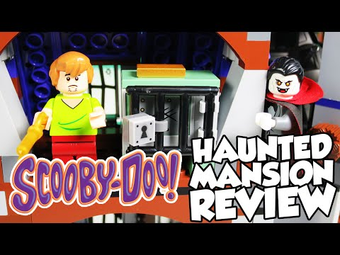 SCOOBY DOO TOYS Haunted Mansion Lego Review 75904