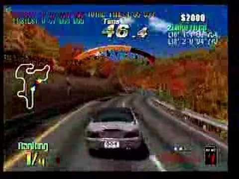 BATTLE GEAR 2 TWIN RACING ARCADE GAME TAITO