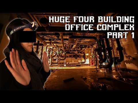 ABANDONED Office Building, PART 1 of 2│PRIMUS, Stockholm