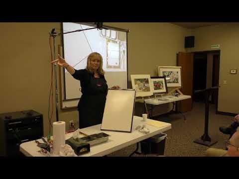 EAFA demo by guest artist Kay Barnes