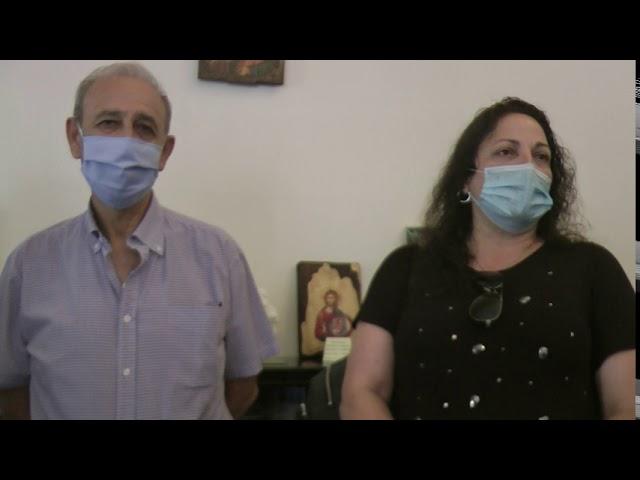 Οι Καλύμνιοι ομογενείς Αμερικής έμπρακτα στο πλευρό του Νοσοκομείου Καλύμνου. Επίσκεψη στον Έπαρχο