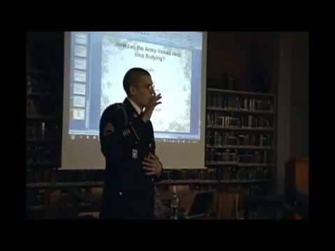 US Army Corpus Christi Company Gives Anti-Bullying Presentation @ King High School