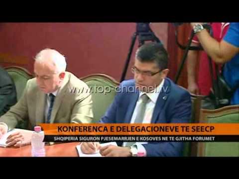 Konferenca e delegacioneve të SEECP - Top Channel Albania - News - Lajme