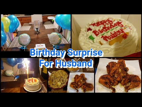 Birthday Surprise For My Husband || Making Special Dinner|| Pakistani Mom Life In America ||