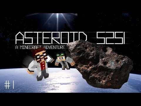 Asteroid 5251, Part 1 - Crash Site (Minecraft Adventure with AshDubh) Intro from Stampylongnose