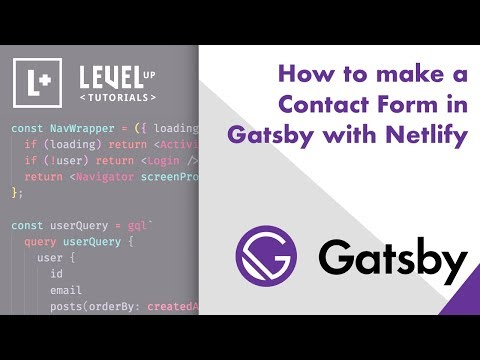 Building a Contact Form | GatsbyJS