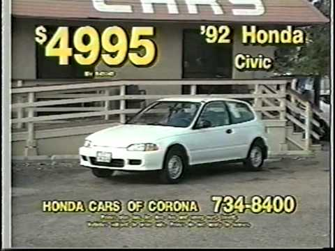 Honda Cars Of Corona >> Honda Cars Of Corona Commercial 3