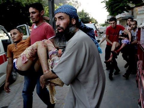 Raw: 16 Killed in Gaza Market Strike